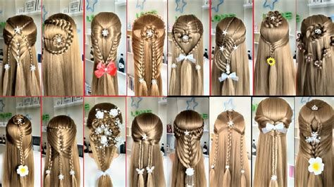 Top 20 Easy Hairstyles For Long Hair Beautiful Easy Hairstyles For Long Hair Easy Hairstyles Hair Styles