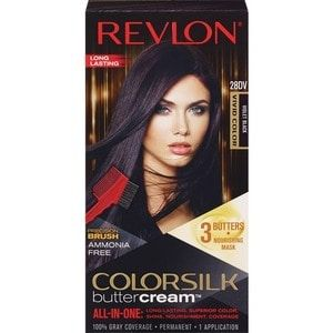 Revlon Colorsilk Buttercream Haircolor Vivid Violet Black