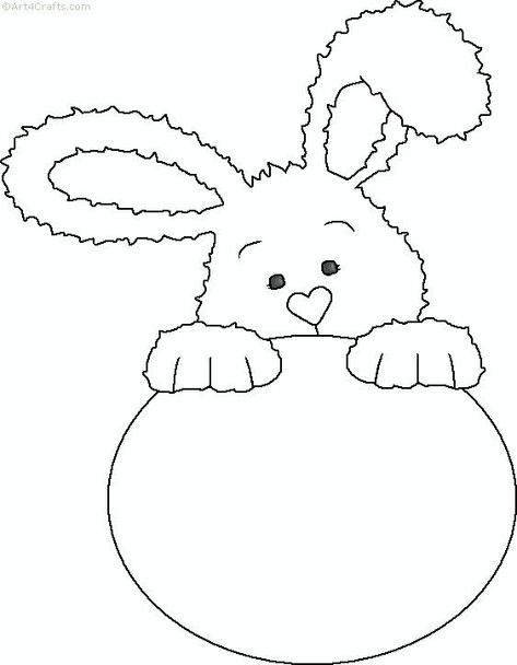 easterbunnycoloringpage 13  crafts and worksheets