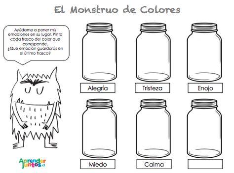 El Monstruo De Colores   Aprender Juntos