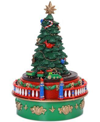Mr Christmas Mini Carnival Music Box Collection Reviews Holiday Shop Home Macy S Christmas Music Box Christmas Tree Train Diy Christmas Tree