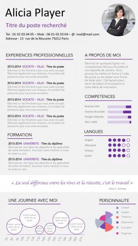 CV chef du0027entreprise cv 2017 Pinterest - resort chef sample resume