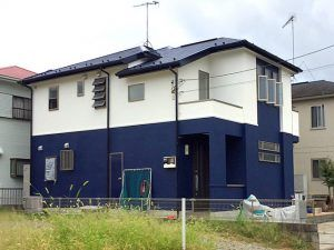 塗り替えたい色が見つかる オシャレな青い外壁の施工事例35選 建築