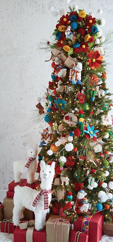 Making It Merry Christmas Tree By Raz Imports Holiday Christmas Tree Christmas Tree Decorations Christmas Tree Themes