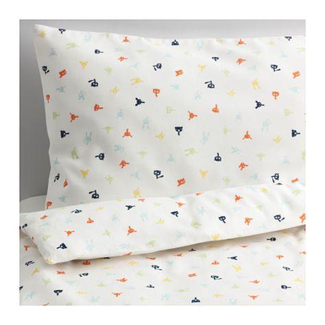 Stjarnbild Crib Duvet Cover Pillowcase Multicolor Quilt Cover