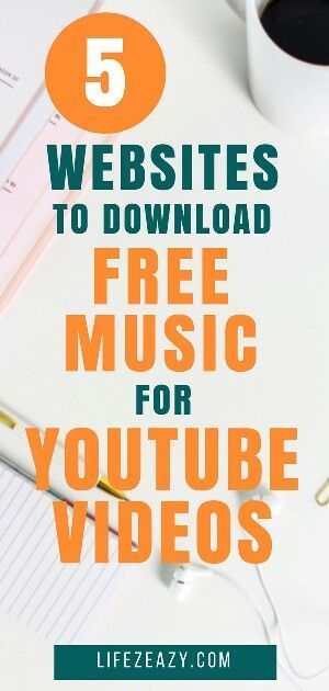 Non Copyrighted Music For Youtube 5 Best Website For Free Music Youtube Downloader Video Marketing Youtube Download Free Music Download Music From Youtube