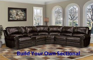 Home Cinema Center Thurston Build Your Own Power Reclining