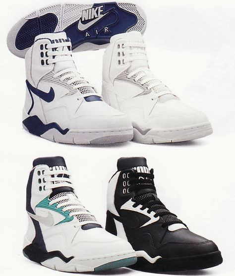 Nike Air Command Force White Black