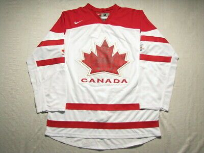 Ad Ebay Link Blank White Size 54 2xl Team Canada 2010 Olympic Jerseys Team Canada Team Canada Hockey Olympic Hockey