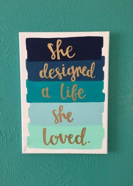 21 Ideas Painting Quotes Love Simple Canvas Art Diy