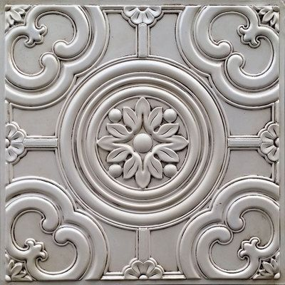 Faux Tin Ceiling Tile 24 In X 24 In Dct 50 Faux Tin Ceiling