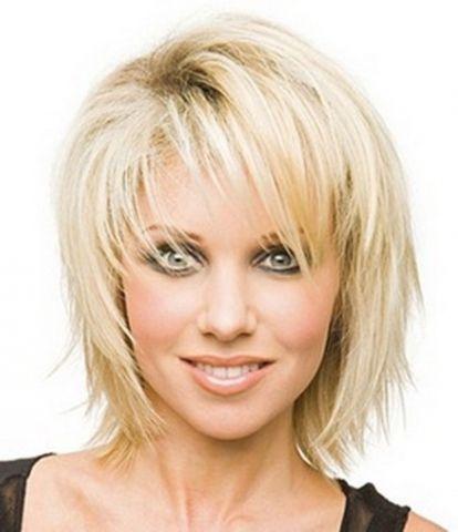 Frisuren Blond Halblang Schone Frisuren Kurze Haare Mittellange