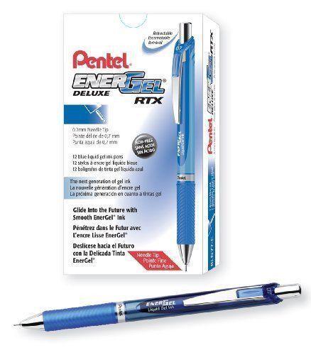 Pentel EnerGel® Deluxe RTX Liquid Gel Pen - BLUE