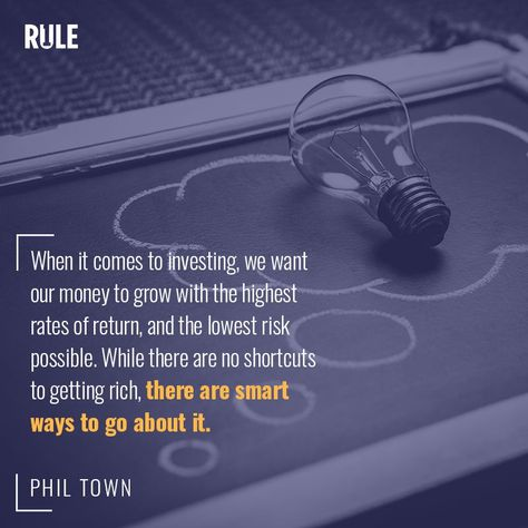 With Rule 1 Investing You Can Generate High Returns With Low