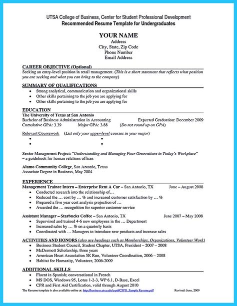 nice Best Current College Student Resume with No Experience - student resume for college