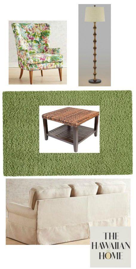 Tropical Living Room Design Tropical Living Room Printed Chair Living Room Living Room Designs