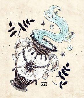 About Aquarius Tattoo On Pinterest Sagittarius Tattoos Tattoos