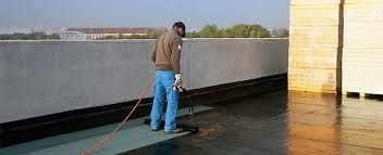 Waterproofing Is The Process Of Making An Object Or Structure Waterproof Or Water Resistant So That It Remain In 2020 Roof Waterproofing Swimming Pool Water Waterproof