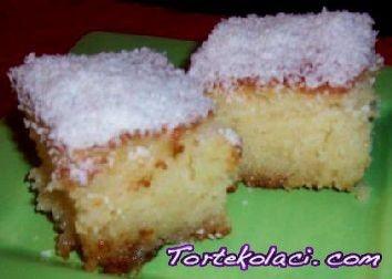 Zaljeveni jednostavni turski kolač