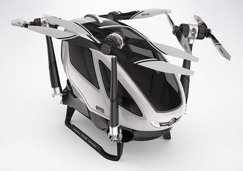 Ehang 184 Autonomous Manned Vehicle Drone   Mashable CES