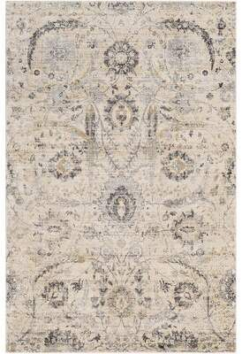 Charlton Home Pfeiffer Oriental Cream Charcoal Area Rug Rugs Area Rugs Trendy Rug