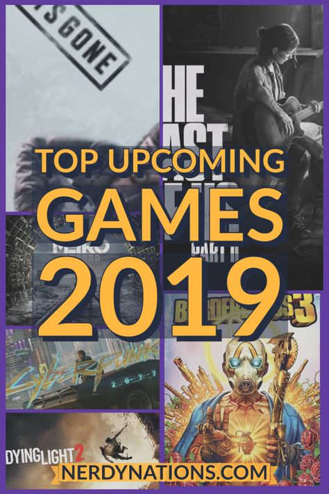 A New Year And Some Of The Hottest Games Coming Out This Year