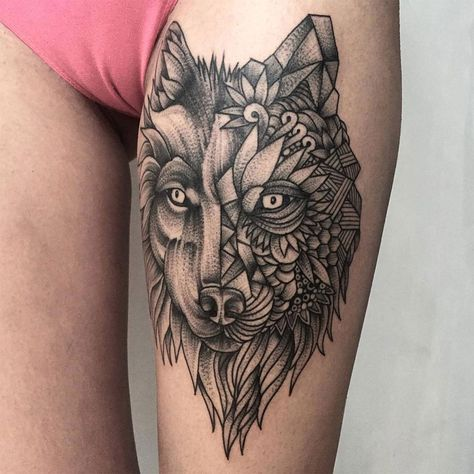 Excellent Blackwork Tattoos by Parvick Faramarz 01 Excellent Blackwork Tattoos with Illustrations of Mythical Creatures and .