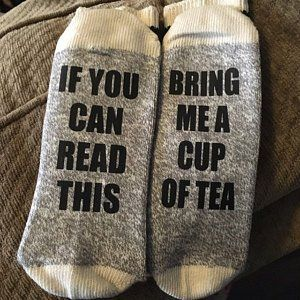 Wine Socks If You Can Read This Bring Me Wine Socks Gift For