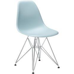 Vitra Stuhl Eames Plastic Side Chair Gestell Verchromt Designer Charles Ray Eames Vitra In 2020 Grau Und Stuhle