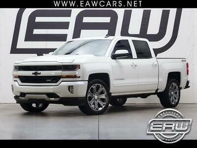Ebay Advertisement 2016 Chevrolet Silverado 1500 Lt Z71 Crew Cab