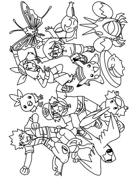Pokemon Advanced Coloring Pages Pokemon Malvorlagen Malvorlagen Pokemon Ausmalbilder