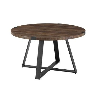 30 Metal Wrap Round Coffee Table Saracina Home With Images