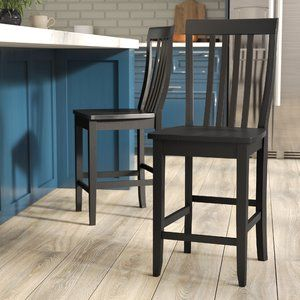 Beckman 24 Nook Breakfast Kitchen Farmhouse Bar Stools 24