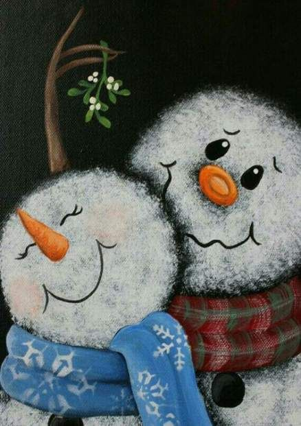 Holz Basteln Schneemann Weihnachten Geschenke 43