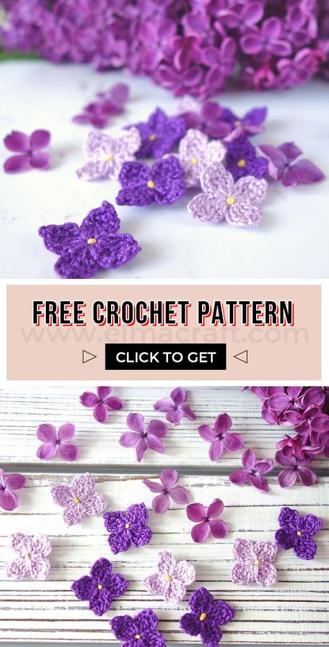 25 Beginner Flower Crochet Projects – Which One Is Your Favorite? - Elma Craft