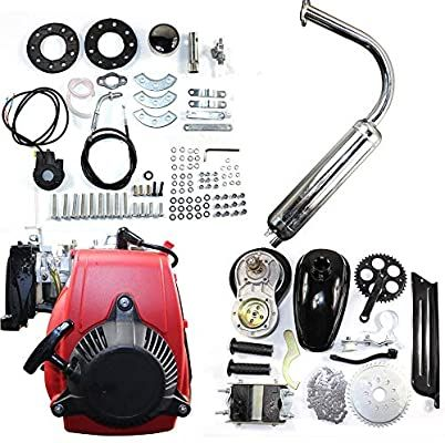 Amazon Com Bstool 49cc 4 Stroke Engine Motor Kit Bike Fuel Gas