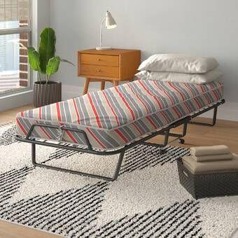 Charlton Home Jaylan Twin Daybed Reviews Wayfair Folding Beds Folding Bed Frame Furniture