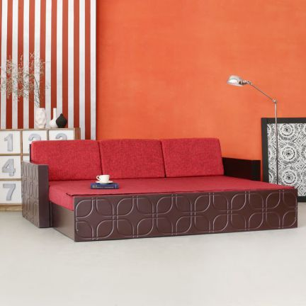 Fab Home Winchester Slider Bed With Storage Brown Sofa Bed Design Sofa Amazing Sofa Bed