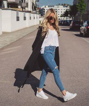 20 Looks Fashionistas Con Tenis Nike Air Max Tenis Nike Blancos Mujer Tenis Mujer Blancos Tenis Nike Blancos