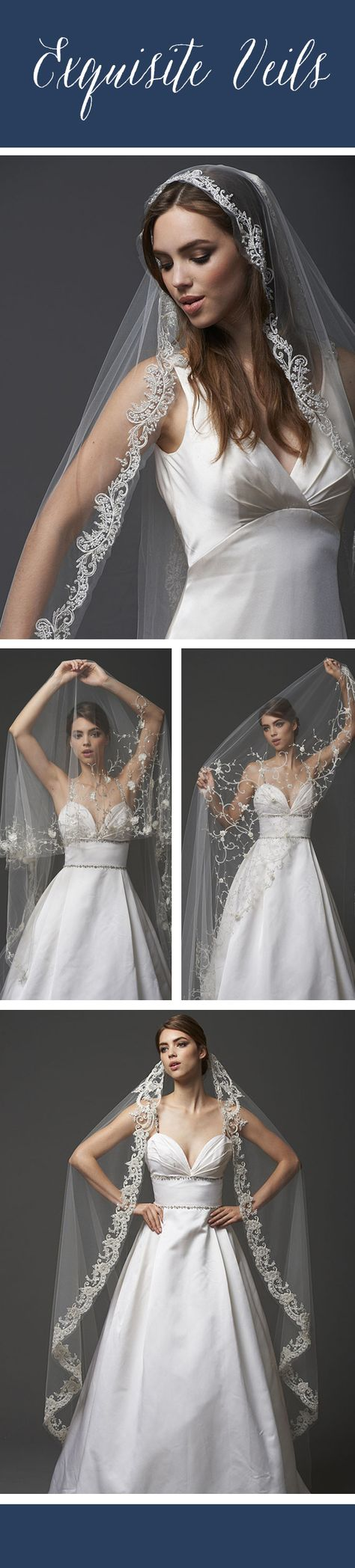 Check out these gorgeous veils and accessories by @blossomveils! We're obsessed! #weddingveils