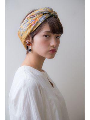 ショートヘアさん必見 短い髪こそ似合う簡単スカーフアレンジ8選