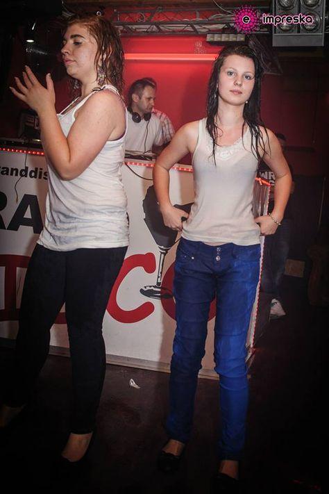 Wybory Miss Mokrego Podkoszulka - Grand Disco Szczebrzeszyn | Wet t shirt, Wet t, Disco