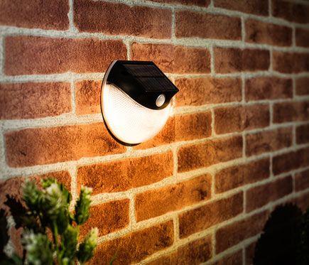 Aplique Solar Led Inspire Tilton Leroy Merlin Apliques Led Colores