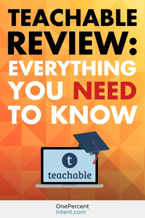 Teachable  Course Creation Software  One Year Warranty