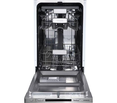 Kenwood Kid45s17 Slimline Integrated Dishwasher Integrated