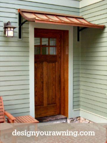 Beautiful Door Awnings In 2020 Door Awnings Metal Awning Door Overhang