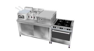 Small Restaurant Kitchen Equipment Set Maquinaria Pinterest
