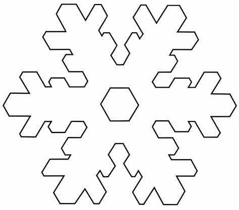 snowflake templates snowflake template 1 Templates Pinterest - snowflake template