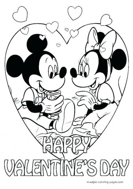 Preschool Coloring Pages For Valentine S Day Valentine Coloring Pages Disney Coloring Pages Valentines Day Coloring Page