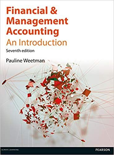 Financial And Management Accounting 7th Edition Pauline Weetman Buy Rent Cheap Textbook Online Accounting Financial Accounting Classes